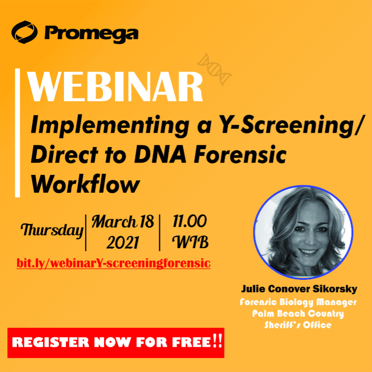 Implementing a Y-Screening/ Direct to DNA Forensic Workflow
