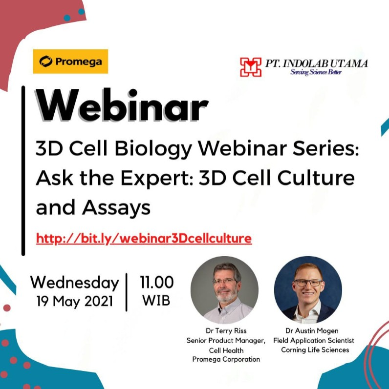 3D Cell Biology Webinar Series:Ask the Experts: 3D Cell Culture and Assays