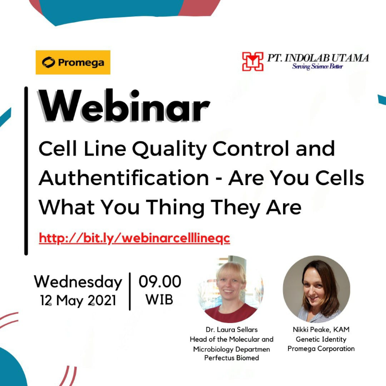 Cell Line Quality Control and Authentification- Are You Cells What You Thing They Are