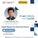 Recording WEBINAR Liquid Biopsy for Colorectal Cancer Wednesday, June 30, 2021